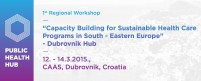 Capacity Building for Sustainable Health Care Programs in South - Eastern Europe